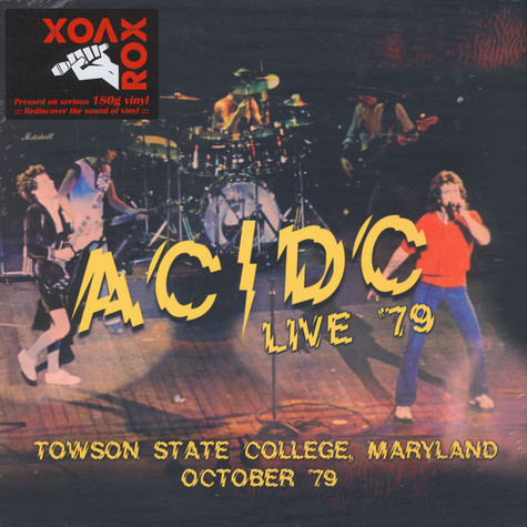 AC/DC - Live '79, Towson State College, Maryland