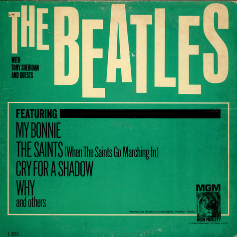 Beatles With Tony Sheridan - The Beatles With Tony Sheridan And Guests
