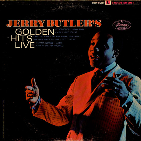 Jerry Butler - Golden Hits Live