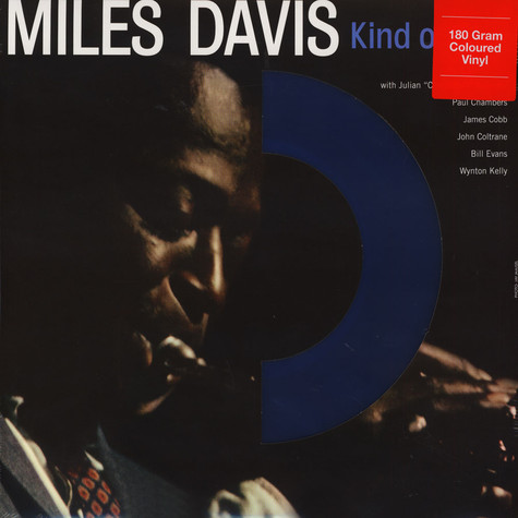 Miles Davis - Kind Of Blue Blue Vinyl Edition