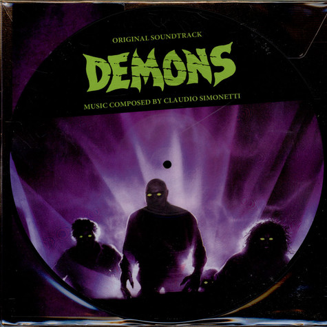 Claudio Simonetti - OST Demons Picture Disc Edition