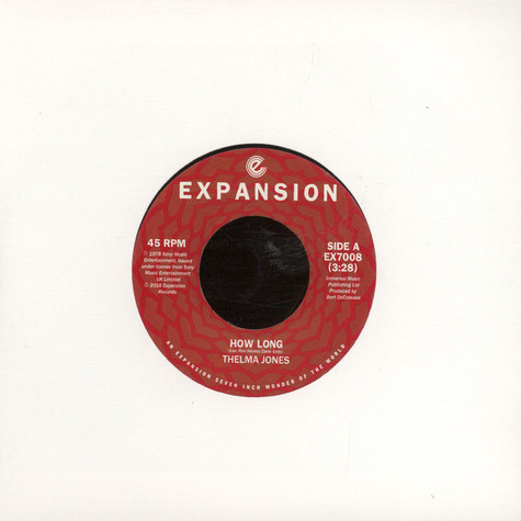Thelma Jones - How Long / I Want What You Want