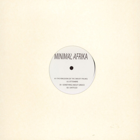 Minimal Afrika - The Kingdom