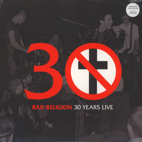 Bad Religion - 30 Years Live Silver Vinyl Edition