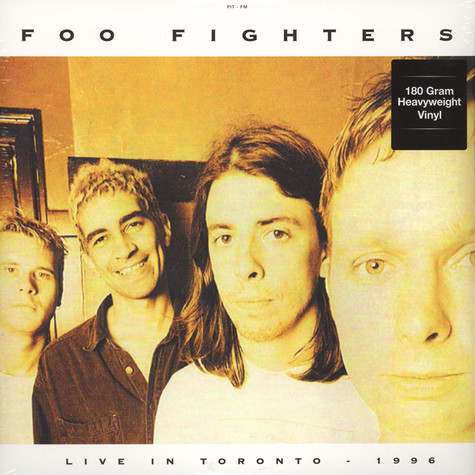 Foo Fighters - Live In Toronto - April 3, 1996 180g Vinyl Edition