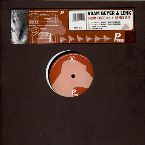 Adam Beyer & Lenk - Drum Code No.1 Remix EP