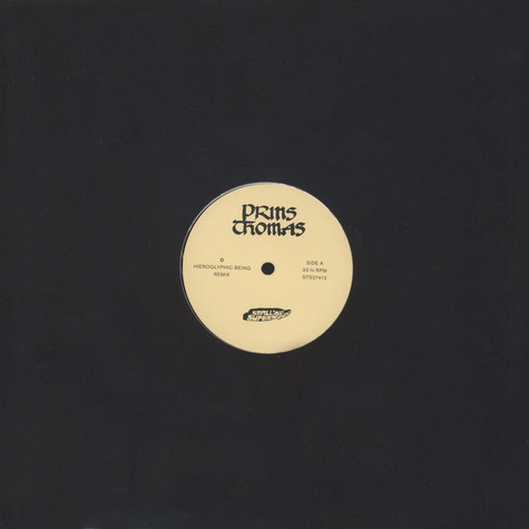 Prins Thomas - D Hieroglyphic Being Remixes