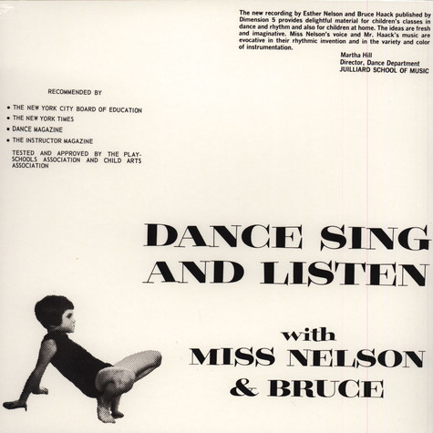 Miss Nelson & Bruce Haack - Dance Sing And Listen