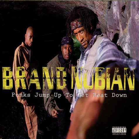 Brand Nubian - Punks Jump Up To Get Beat Down