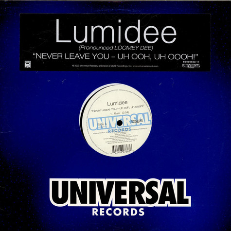 Lumidee - Never Leave You - Uh Ooh, Uh Oooh!