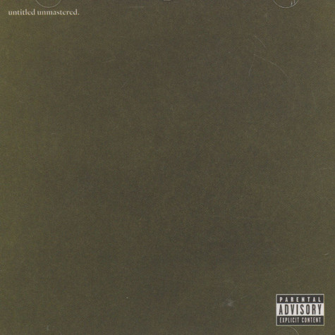 Kendrick Lamar - Untitled Unmastered