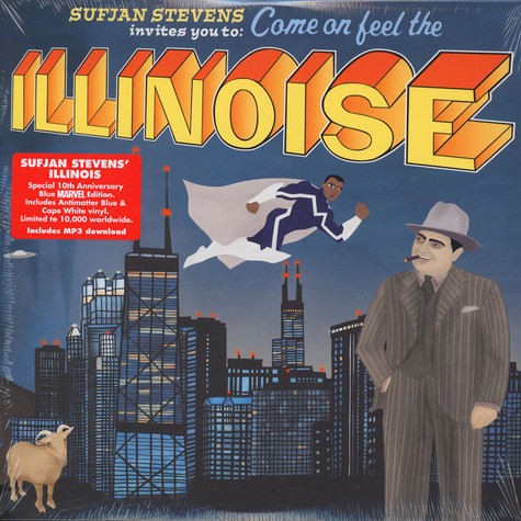 Sufjan Stevens - Illinois 10th Anniversary Blue Marvel Edition