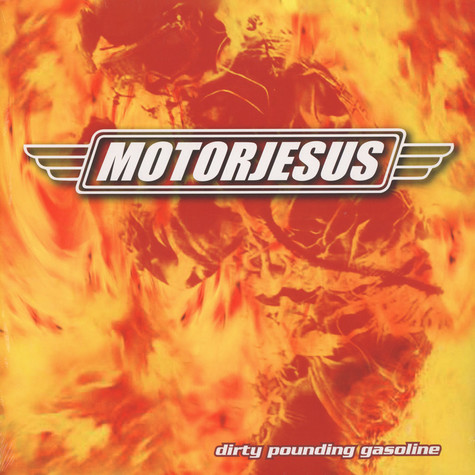 Motorjesus - Dirty Pounding Gasoline (Lim. Marbled Flames Vinyl)