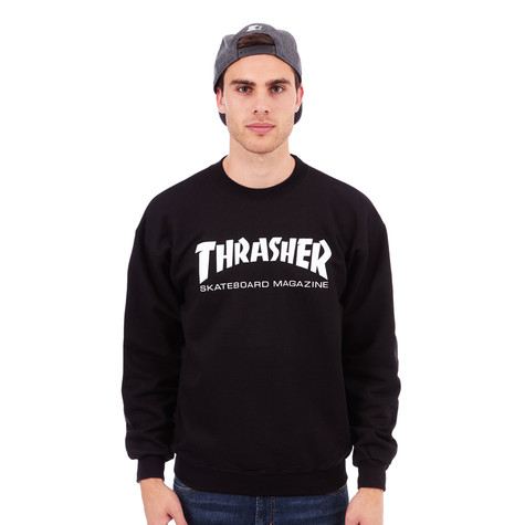 931fd30b7f22 Thrasher - Skate Mag Crewneck Sweater (Black)