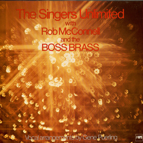 Singers Unlimited, The - The Singers Unlimited With Rob McConnell And The Boss Brass
