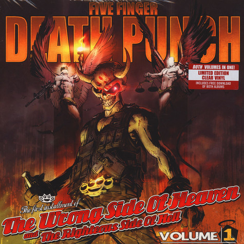 Five Finger Death Punch - The Wrong Side Of Heaven And The Righteous Side Of Hell - Volume 1 & 2