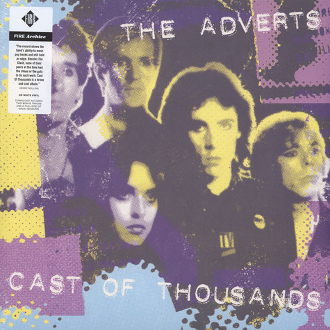 Adverts, The - Cast Of Thousands