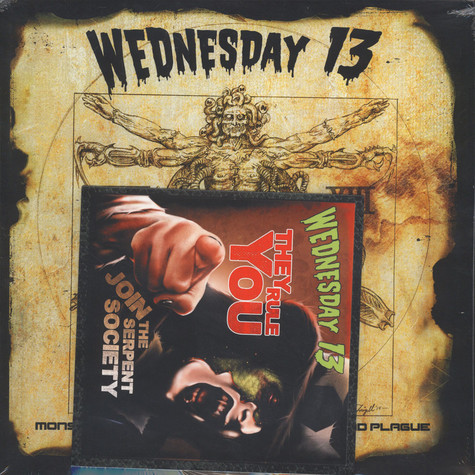 Wednesday 13 - Monsters Of The Universe: Come Out & Plague