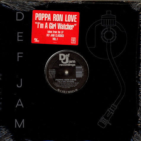 Poppa Ron Love / Russell Rush And Jazzy Jay - I'm A Girl Watcher / Cold Chillin' In The Spot