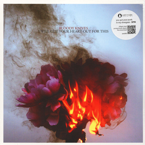 Bloody Knives - I Will Cut Your Heart Out For This Black Vinyl Edition