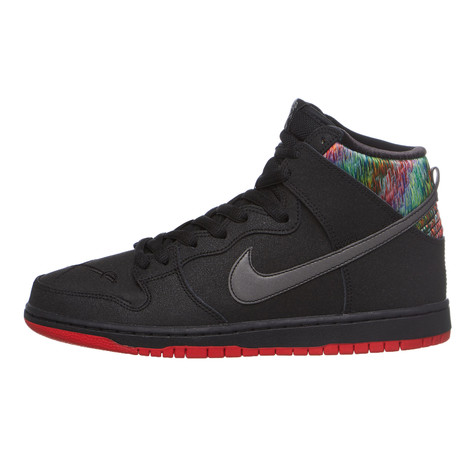best service faac5 3a5d6 Nike SB - Dunk High Premium (Black  Black  Chilling Red  Met