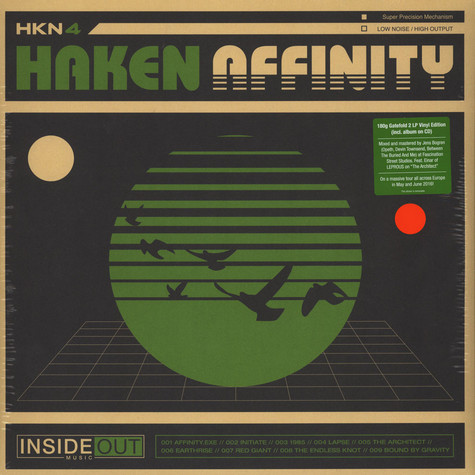 Haken - Affinity Orange Vinyl Edition