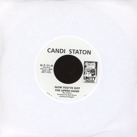 Candi Staton - Now You`ve Got The Upper Hand