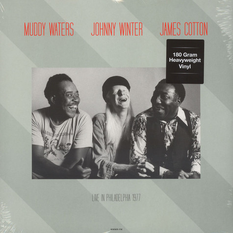 Muddy Waters & Johnny Winter - Live At Tower Theatre, Philadelphia, March 6, 1977 180g Vinyl Edition