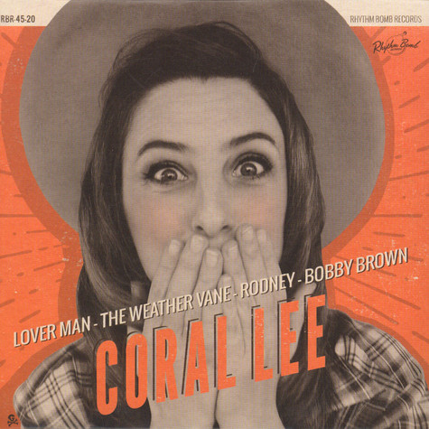 Coral Lee - Lover Man EP