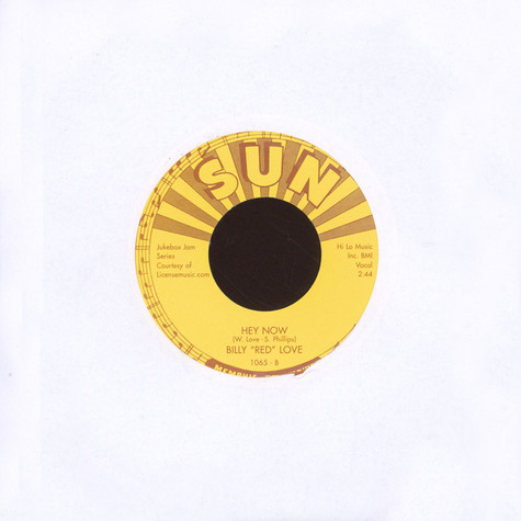 Billy Red Love - A Dream / Hey Now