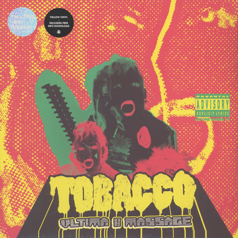Tobacco of Black Moth Super Rainbow - Ultima II Massage Yellow Vinyl Edition