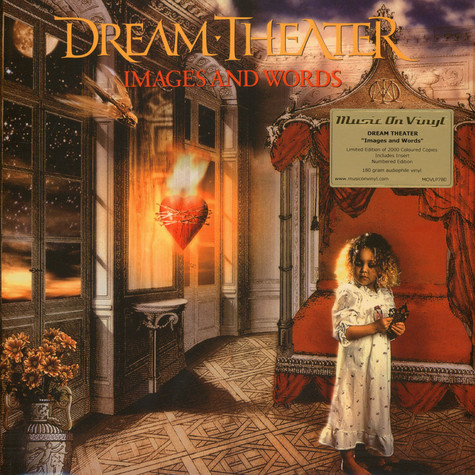Dream Theater - Images And Words Gold / Solid Red Vinyl Edition