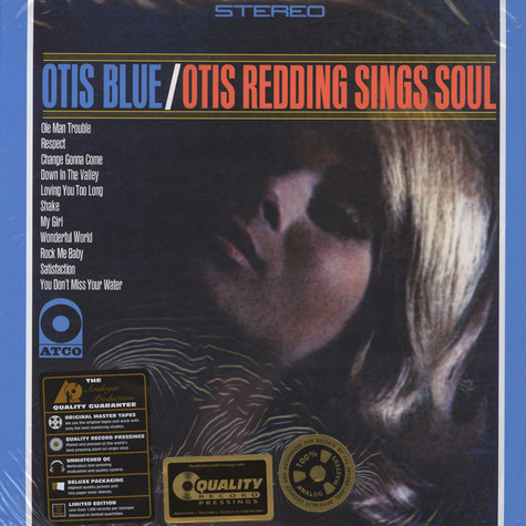 Otis Redding - Otis Blue 200g 45RPM Vinyl Edition