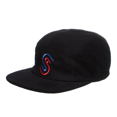 Stüssy - Foam Fleece USA Camp 5-Panel Cap