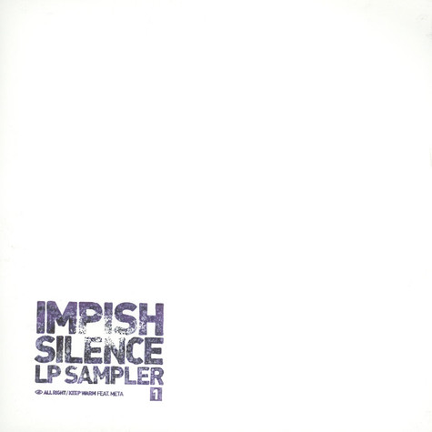 Impish - Silence LP Part 1