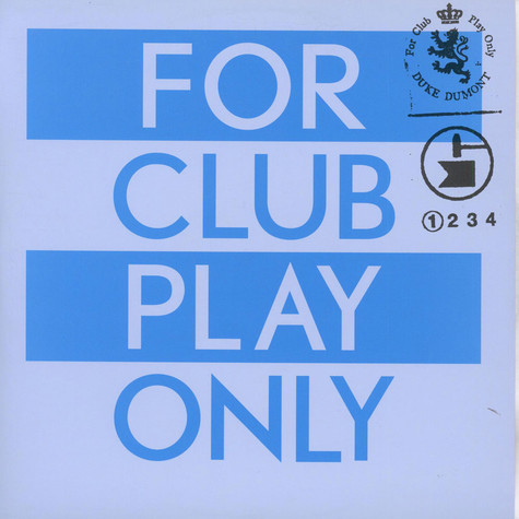 Duke Dumont - For Club Play Only (Part 1)