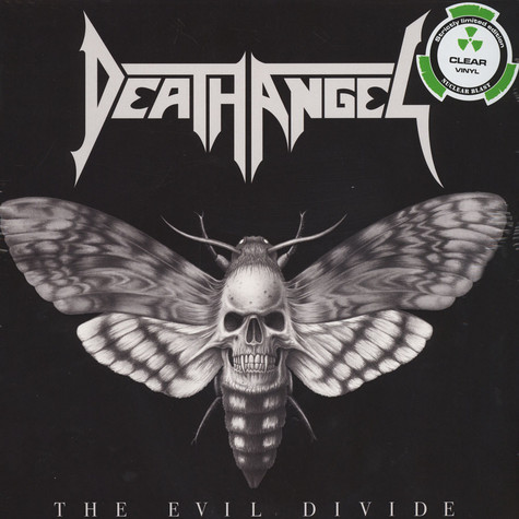 Death Angel - The Evil Divide Clear Vinyl Edition