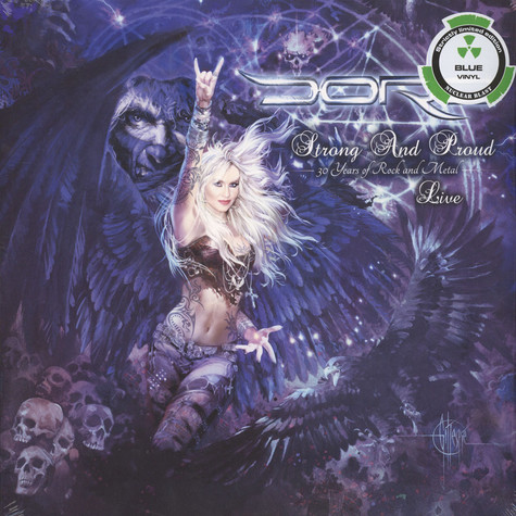 Doro - Strong And Proud Blue Vinyl