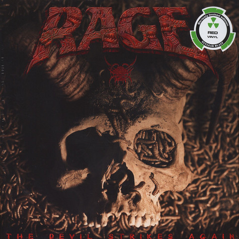 Rage - The Devil Strikes Again Red Vinyl Edition