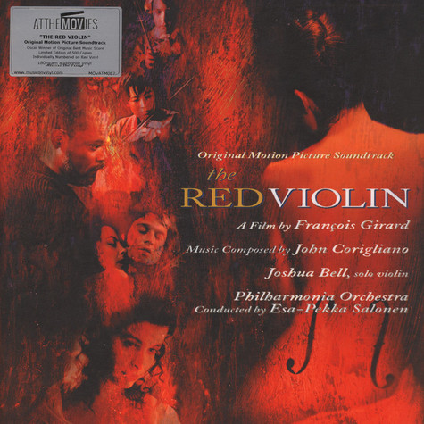 Joshua Bell - OST The Red Violin Red Vinyl Edition