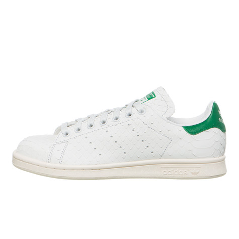 adidas - Stan Smith W (Crystal White   Crystal White   Green)  f73f01784516