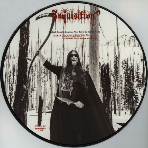 Inquisition - Bloodshed Across The Empyrean Altar Beyond The Celestial Zenith Picture Disc Edition