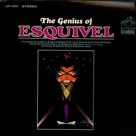 Esquivel And His Orchestra - The Genius Of Esquivel
