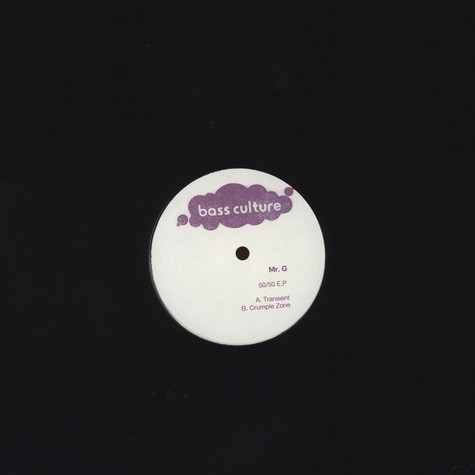 Mr G - 50/50 EP