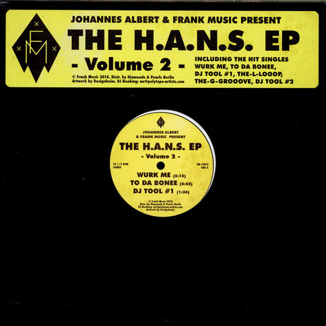 Johannes Albert - The H.A.N.S. EP - Volume 2