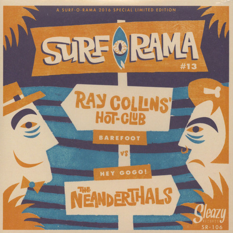 Ray Collins' Hot Club / Neanderthals - Surforama Festival 2016