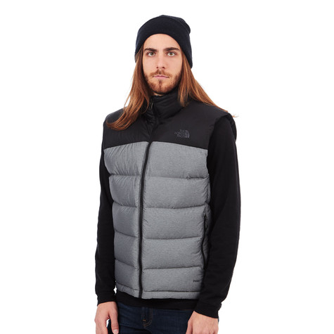 d621d16693 The North Face - Nuptse 2 Vest (Tnf Medium Grey Heather   Tnf Black ...