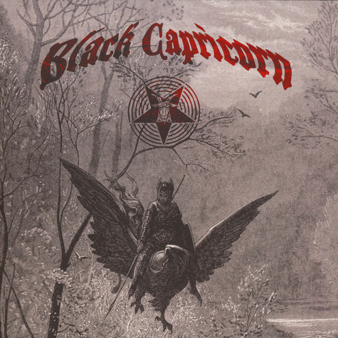"Black Capricorn / Weed Priest - Split 12"" Oxblood Colored Vinyl Edition"