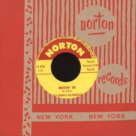 Morty Shann & The Morticians - Movin' In / Red Headed Woman