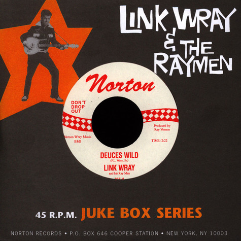 Link Wray & The Wraymen - Deuces Wild / The Sweeper